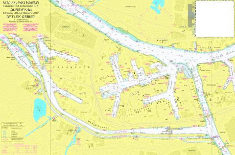 18094 - Nieuwe Waterweg. Kilometer 1012 to Marine Chart - Nautical Charts App
