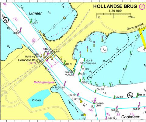 18103F - Hollandse brug Marine Chart - Nautical Charts App