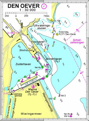 18104J - Den Oever Marine Chart - Nautical Charts App