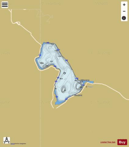 Onilsavatnet Fishing Map - i-Boating App