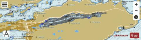 Brusdalsvatnet Fishing Map - i-Boating App