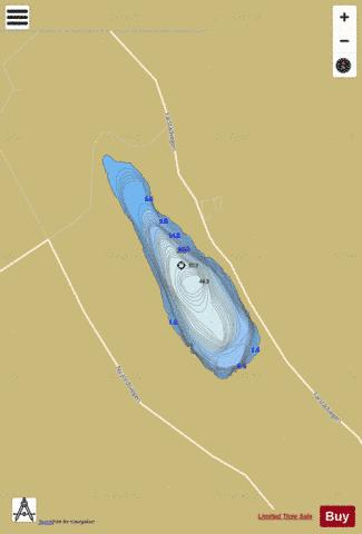 Hostadvatnet Fishing Map - i-Boating App