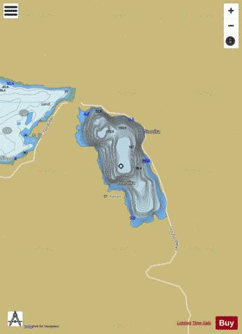 Saltvatnet Fishing Map - i-Boating App