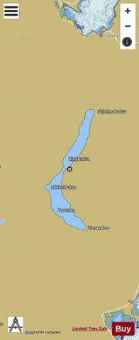Lysvatnet Fishing Map - i-Boating App