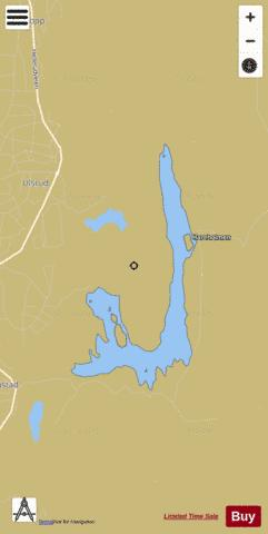 Nøklevannet Fishing Map - i-Boating App