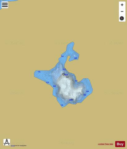 Svartetjerna Fishing Map - i-Boating App