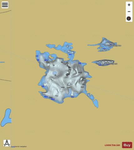 Skilbreida Fishing Map - i-Boating App