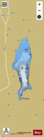 Rødbyvatnet Fishing Map - i-Boating App