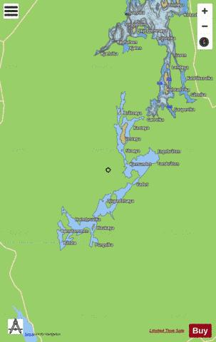 Mjermen Fishing Map - i-Boating App