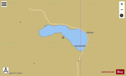 Sandnesvatnet Fishing Map - i-Boating App