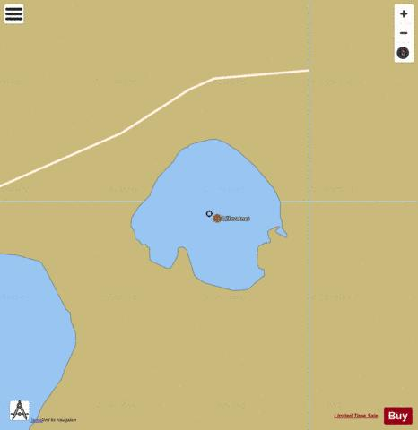 Litlevatn Fishing Map - i-Boating App