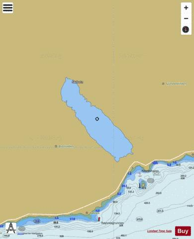Ringvatnet Fishing Map - i-Boating App