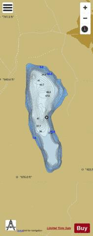 Stovivatnet Fishing Map - i-Boating App