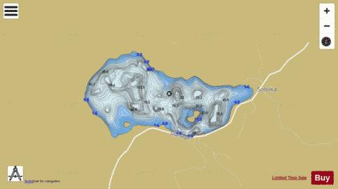 Heivatn Fishing Map - i-Boating App