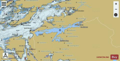 Salsvatnet Fishing Map - i-Boating App