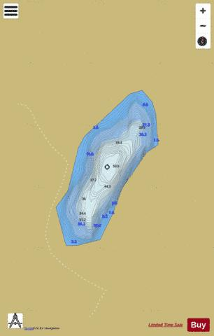 Igletjern Fishing Map - i-Boating App