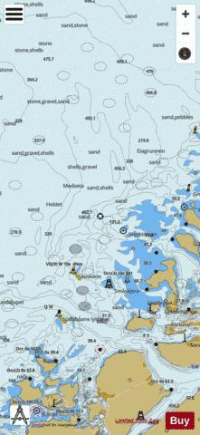 Landmeen Marine Chart - Nautical Charts App