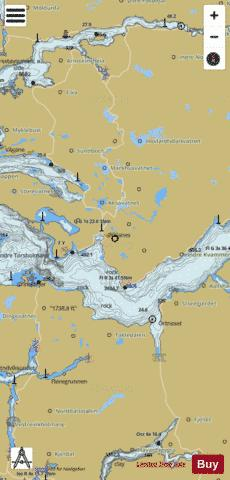 Sognefjorden Marine Chart - Nautical Charts App