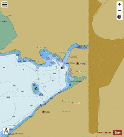 Steinkjer Marine Chart NONO5D1822 Nautical Charts App