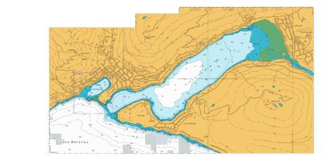 Frankton Arm to Queenstown Bay,NU Marine Chart - Nautical Charts App