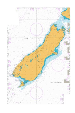 South Island,NU Marine Chart - Nautical Charts App