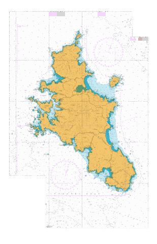 Great Barrier Island (Aotea Island),NU Marine Chart - Nautical Charts App
