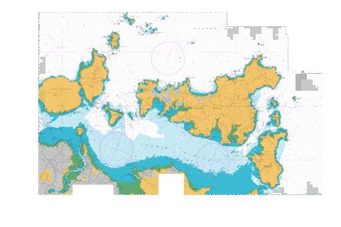 Tamaki Strait and Approaches,NU Marine Chart - Nautical Charts App