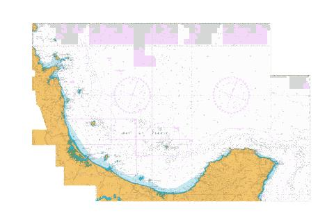 Cuvier Island to East Cape,NU Marine Chart - Nautical Charts App