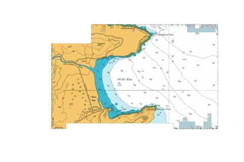 Hicks Bay,NU Marine Chart - Nautical Charts App