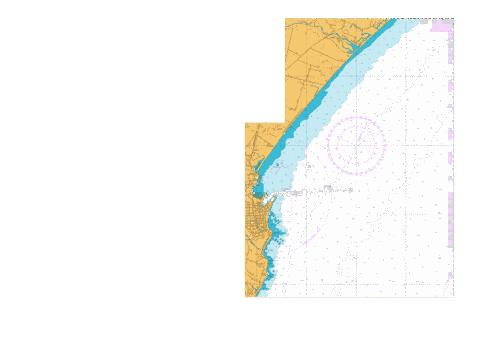 Approaches to Timaru,NU Marine Chart - Nautical Charts App
