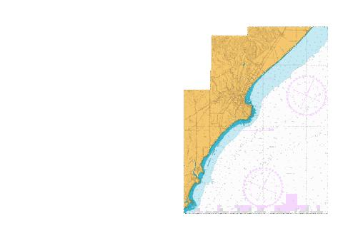 Approaches to Oamaru,NU Marine Chart - Nautical Charts App