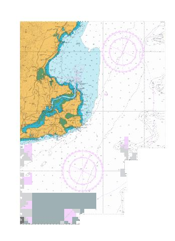 Approaches to Otago Harbour,NU Marine Chart - Nautical Charts App