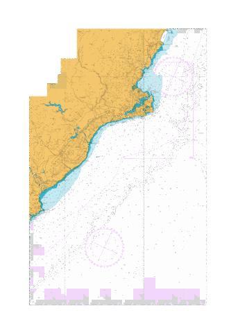 Katiki Point to Nugget Point,NU Marine Chart - Nautical Charts App