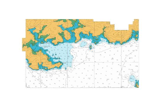 Continuation West to Prices Inlet,NU Marine Chart - Nautical Charts App