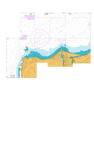 Approaches to Westport,NU Marine Chart - Nautical Charts App