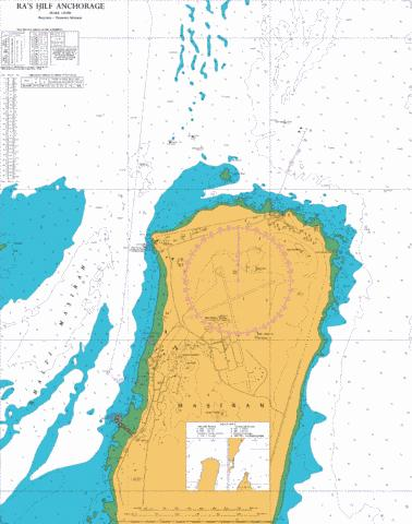 Ra's Hilf Anchorage Marine Chart - Nautical Charts App