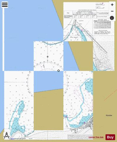 Baia de Mossamedes (Little Fish Bay) Marine Chart - Nautical Charts App