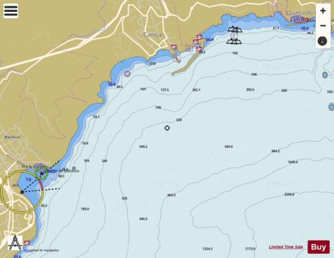 Machico and Canical Marine Chart - Nautical Charts App
