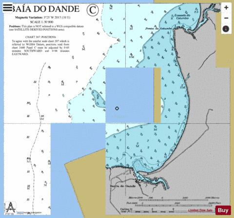 Baia do Dande Marine Chart - Nautical Charts App