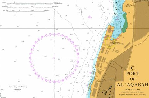 C Port of Al 'Aqabah Marine Chart - Nautical Charts App