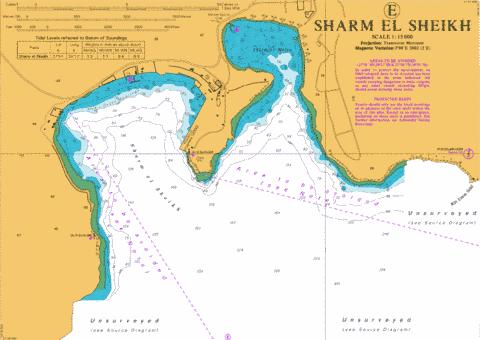 Plan E - Sharm el Sheikh Marine Chart - Nautical Charts App