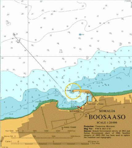 Boosaaso Marine Chart - Nautical Charts App