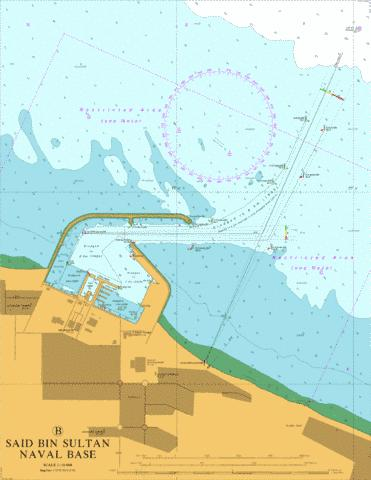 Said Bin Sultan Naval Base Marine Chart - Nautical Charts App