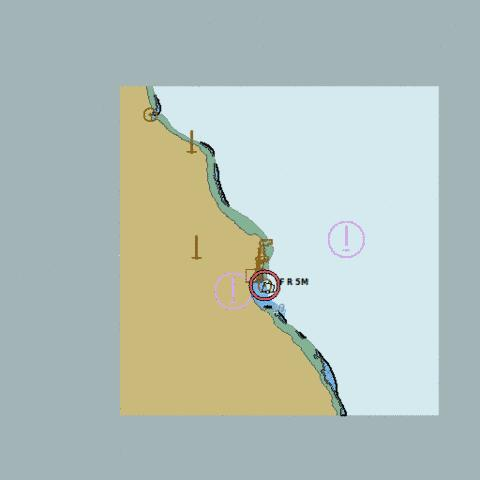 Ports on the Coast of Egypt - Al Qusayr Marine Chart - Nautical Charts App