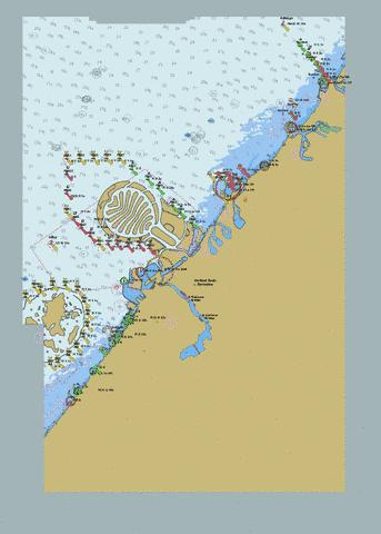United Arab Emirates - Hamriyah to Mina' Seyaha Marine Chart - Nautical Charts App