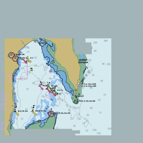 Red Sea - Egypt - Safaga (Bur Safajah) Marine Chart - Nautical Charts App