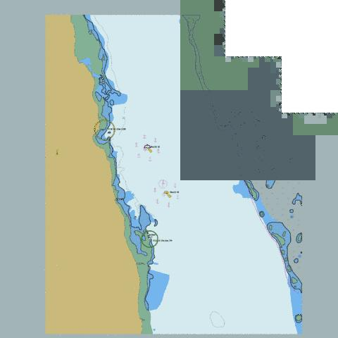 Red Sea - Sudan - Bashayer Oil Terminals Marine Chart - Nautical Charts App