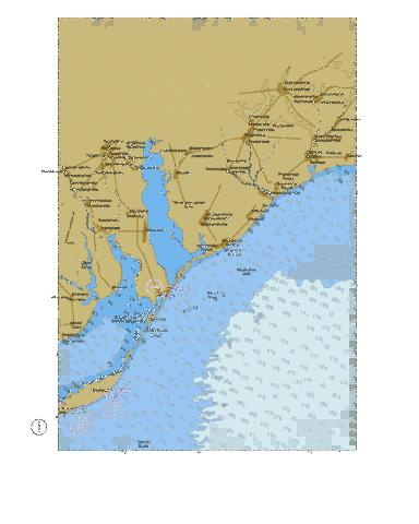 North-Western Part of Sea of Azov  Marine Chart - Nautical Charts App