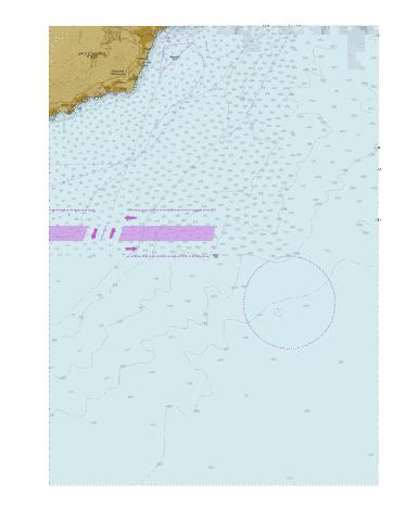 Approaches to Yalta. Part 2  Marine Chart - Nautical Charts App