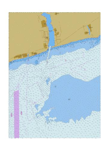 Approaches to Yuzhnyi Port Marine Chart - Nautical Charts App